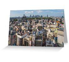 TOKYO 33 Greeting Card