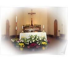 Easter Alter Poster