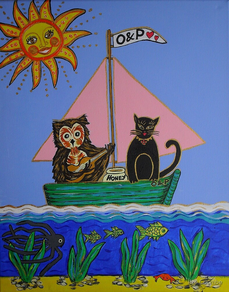 """""""The Owl & Pussycat went to sea ..."""" by Ilze Coombe"""
