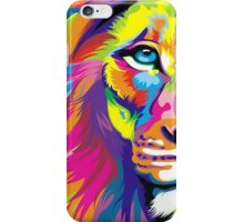 Colorful Lion iPhone Case/Skin