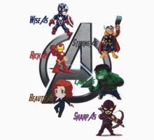 The avengers chibi by luckynewbie