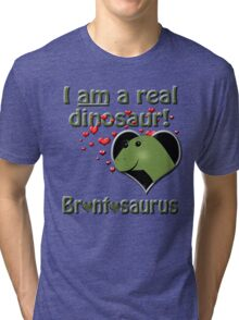 The reinstatement of Brontosaurus Tri-blend T-Shirt