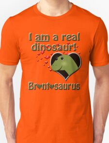 The reinstatement of Brontosaurus Unisex T-Shirt