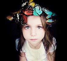 It was a time of butterflies by Vanesa Muñoz