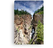 Sinclair Canyon, Kootenay NP, BC, Canada Canvas Print