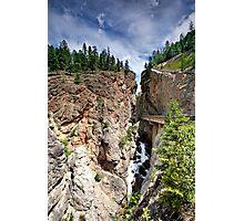 Sinclair Canyon, Kootenay NP, BC, Canada Photographic Print