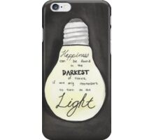 Harry Potter Light Quote iPhone Case/Skin
