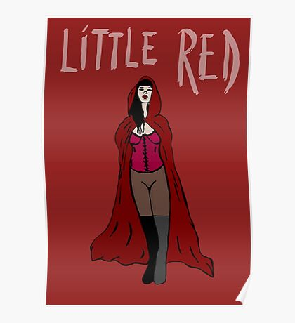 Little Red Poster