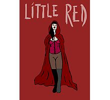 Little Red Photographic Print