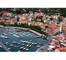 Lerici Touristic Harbour Photographic Print