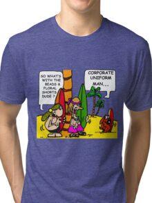 CORPORATE UNIFORM 2 Tri-blend T-Shirt
