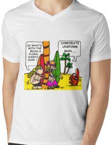 CORPORATE UNIFORM 2 Mens V-Neck T-Shirt