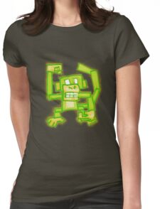 Green Monkey Womens Fitted T-Shirt