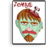 zombie music(less) 2 print... Canvas Print