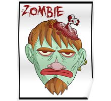 zombie music(less) 2 print... Poster
