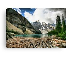 Famous Moraine Lake Canvas Print