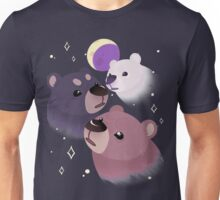 Three Bear Moon Unisex T-Shirt