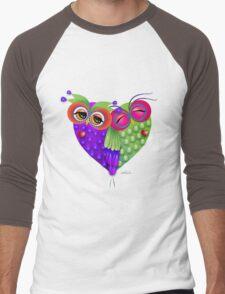 Owl's love Men's Baseball ¾ T-Shirt