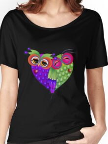 Owl's love Women's Relaxed Fit T-Shirt