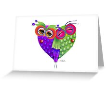 Owl's love Greeting Card
