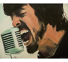 Dave Grohl Painting - Singing Best of You Photographic Print