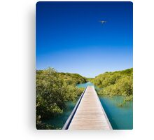 streeters jetty, broome Canvas Print