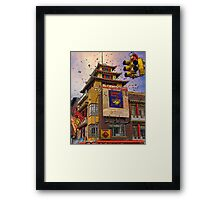 HAPPY CHINESE NEW YEAR Framed Print