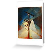 Earth Bound Power #4 Greeting Card