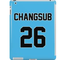 BtoB Changsub Jersey iPad Case/Skin