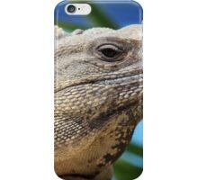 Iguana Closer iPhone Case/Skin