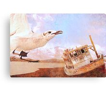 The timeless clarity of sun and sea- resubmit Canvas Print