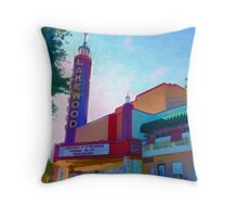 The Lakewood Theater Throw Pillow