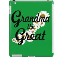 Grandma the Great (black) iPad Case/Skin