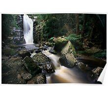 """Mathina Falls and creek"" Poster"