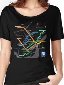STM Montreal Metro Women's Relaxed Fit T-Shirt