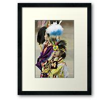 Blackfoot Children Framed Print