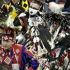 Male Pow Wow Dancers by Alyce Taylor