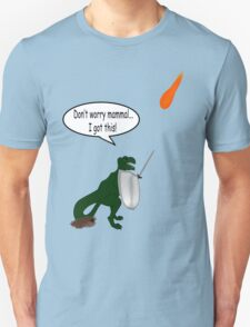 What *really* happened to the dinosaurs!  Unisex T-Shirt