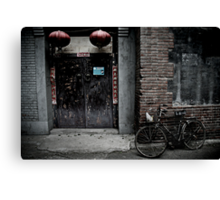 Hutongs of Beijing Canvas Print