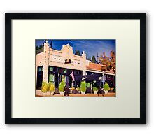 Our First Date  Framed Print