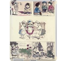 The Little Folks Painting book by George Weatherly and Kate Greenaway 0125 iPad Case/Skin