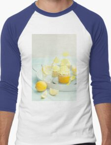 Lemon cupcakes Men's Baseball ¾ T-Shirt