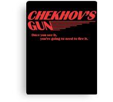 Chekhov's Gun Canvas Print