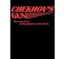 Chekhov's Gun Photographic Print