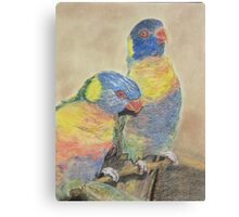 Mothers Love Birds for best review go to enlarge Canvas Print