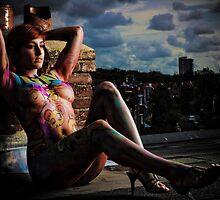 yoyoart playmate linda  by yoyoart