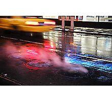 Night Ride Photographic Print