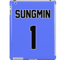 Super Junior Sungmin Jersey iPad Case/Skin