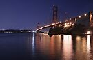 Lights Out on the Golden Gate by MattGranz