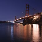 Lights Out on the Golden Gate by MattGranz
